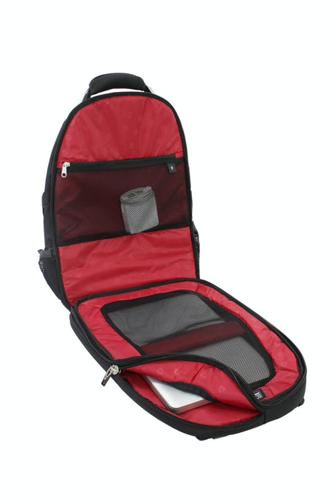 SWISSGEAR 6677 SCANSMART LAPTOP BACKPACK LAPTOP-ONLY COMPUTER COMPARTMENT