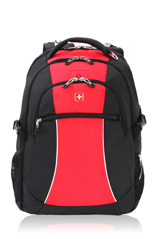 Swissgear 6969 Backpack Black Red