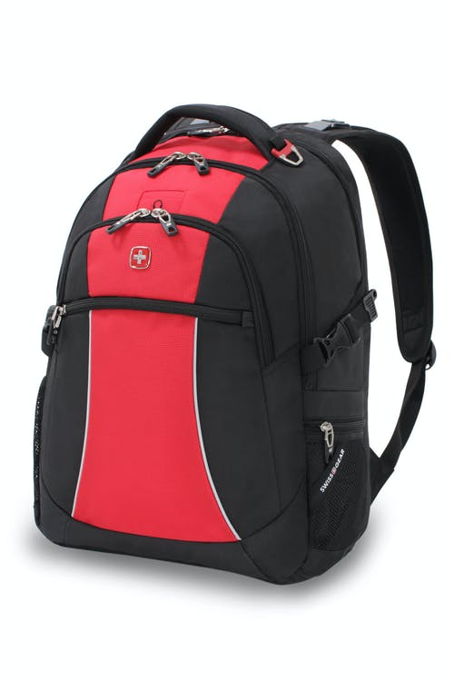 SWISSGEAR 6688 Laptop Backpack - Black/Red