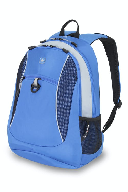 SWISSGEAR 6697 BACKPACK - BLUE/SILVER