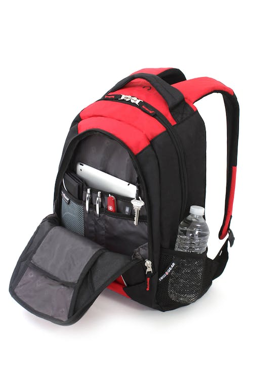 SWISSGEAR 6719 BACKPACK QUICK-ACCESS, FRONT POCKET