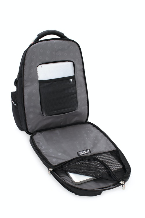 SWISSGEAR 6752 SCANSMART LAPTOP BACKPACK FLOATING TABLETSAFE POCKET