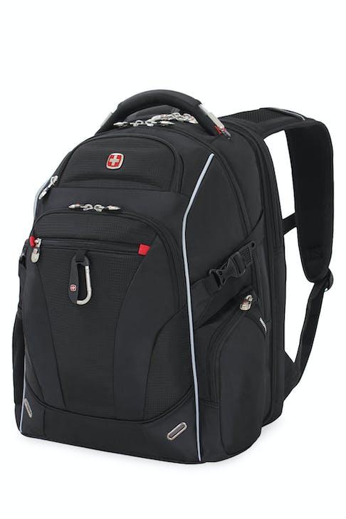 SWISSGEAR 6752 ScanSmart TSA Laptop Backpack - Black