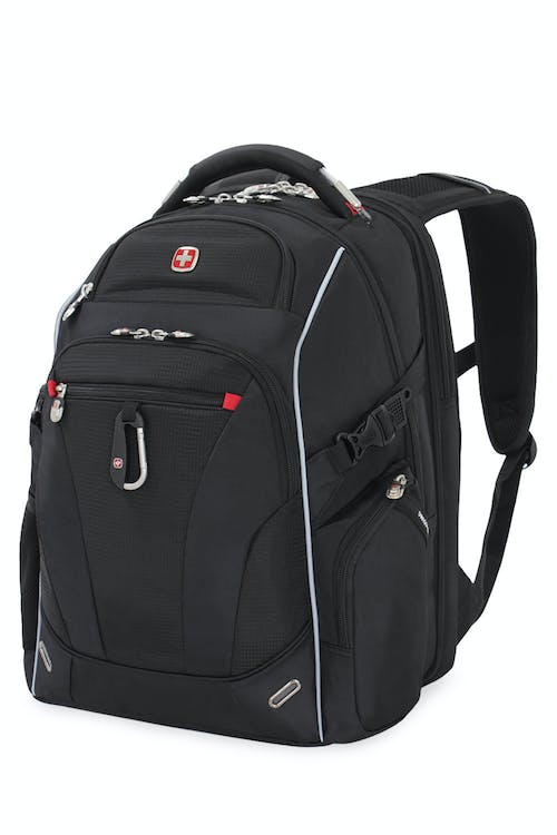 SWISSGEAR 6752 SCANSMART LAPTOP BACKPACK in Black
