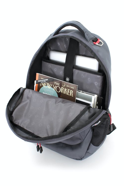 SWISSGEAR 6793 LAPTOP BACKPACK THREE COMPARTMENT BACKPACK