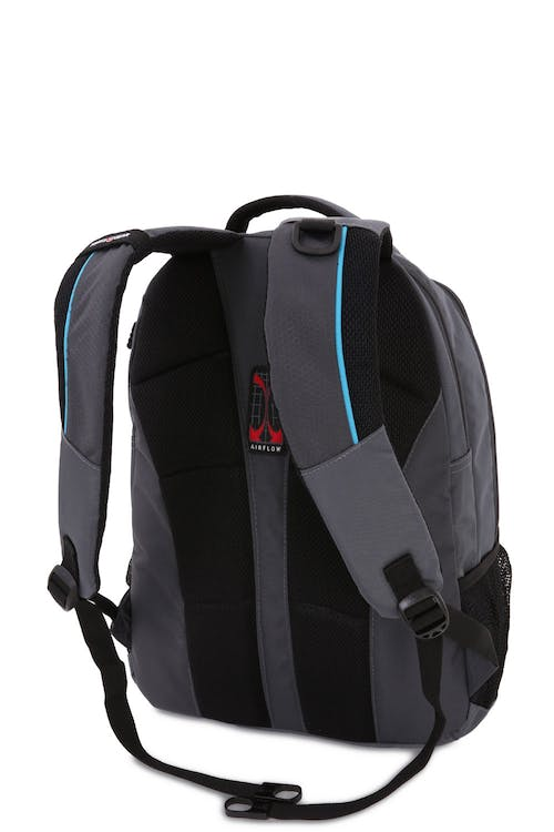 7f6280304102 ... FRONT PANEL METAL D-RING AND TWIN DAISY CHAIN WEB LOOPS. SWISSGEAR 6920 LAPTOP  BACKPACK PADDED