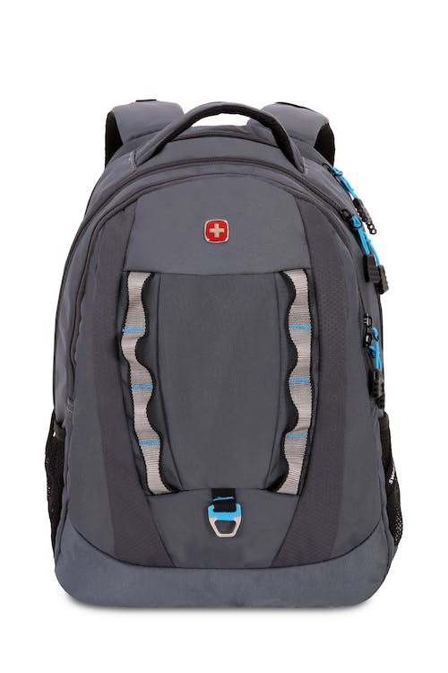 b9a625a926e8 SWISSGEAR 6920 LAPTOP BACKPACK FRONT PANEL METAL D-RING AND TWIN DAISY  CHAIN WEB LOOPS