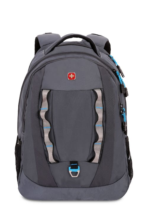 SWISSGEAR 6920 LAPTOP BACKPACK FRONT PANEL METAL D-RING AND TWIN DAISY CHAIN WEB LOOPS