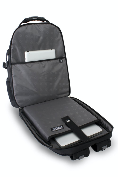 SWISSGEAR 6968 SCANSMART LAPTOP BACKPACK SCANSMART LAY-FLAT TECHNOLOGY