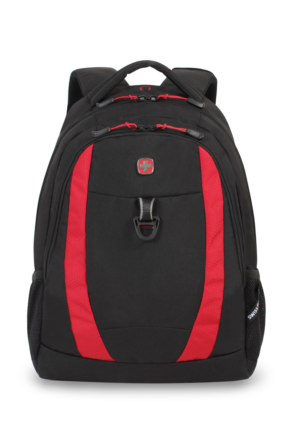 SWISSGEAR 6969 Backpack - Black/Red