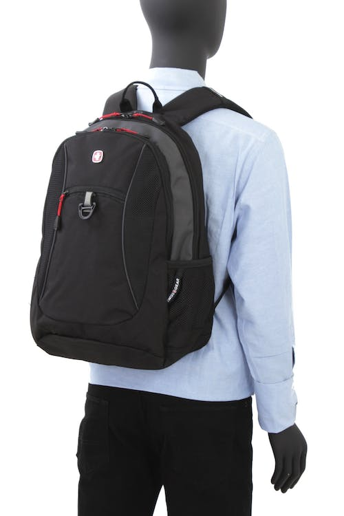 SWISSGEAR 6697 BACKPACK ERGONOMICALLY SHAPED SHOULDER STRAPS
