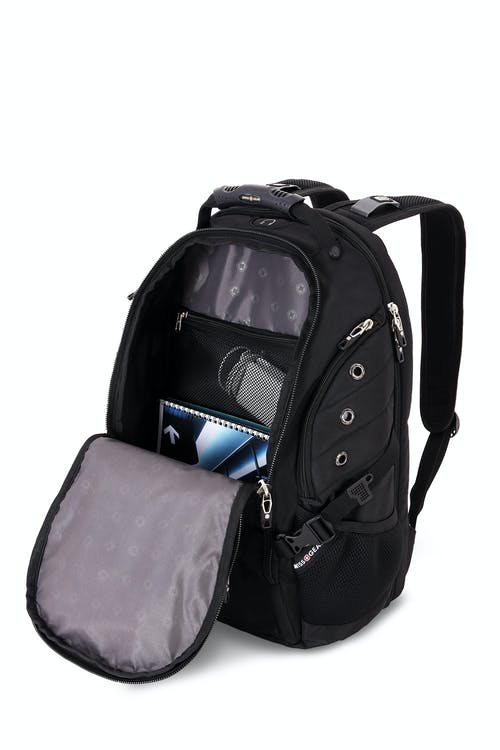 Swissgear 6996 Scansmart Backpack Internal zippered cord pouch