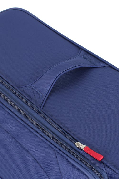 "SWISSGEAR 7208 20"" LITEWEIGHT CARRY-ON SPINNER LUGGAGE ADDED, TOP & SIDE HANDLES"