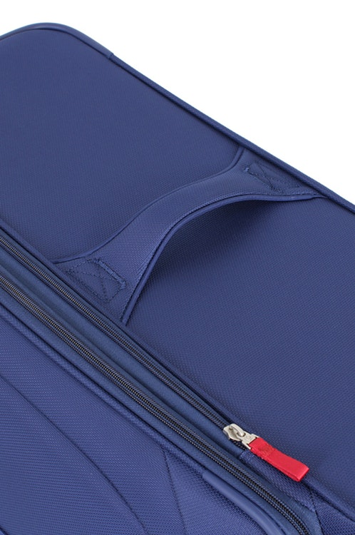 """SWISSGEAR 7208 20"""" LITEWEIGHT CARRY-ON SPINNER LUGGAGE ADDED, TOP & SIDE HANDLES"""