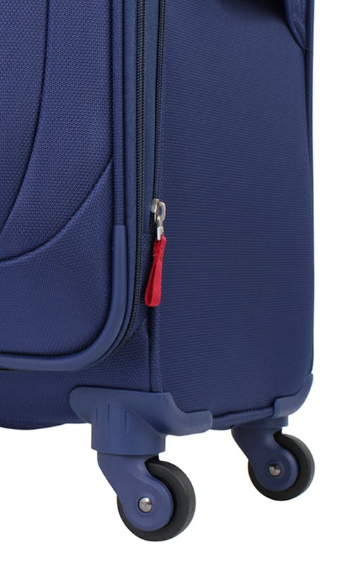"SWISSGEAR 7208 20"" LITEWEIGHT CARRY-ON SPINNER LUGGAGE 360 DEGREE SPINNER WHEELS"
