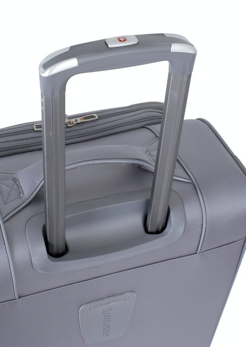 "Swissgear 7208 24.5"" Expandable Liteweight Spinner Luggage push-button locking telescopic handle"