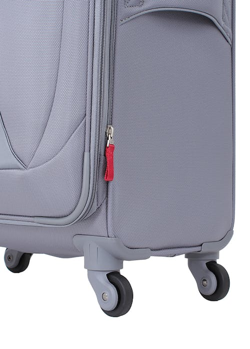 "Swissgear 7208 24.5"" Expandable Liteweight Spinner Luggage 360-degree, multi-directional liteweight spinner wheels"