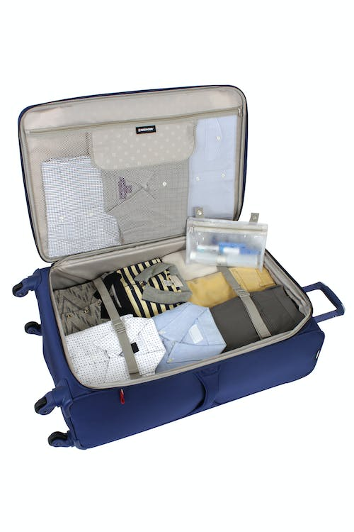 """SWISSGEAR 7208 29"""" EXPANDABLE LITEWEIGHT SPINNER LUGGAGE ADJUSTABLE TIE-DOWN STRAPS"""