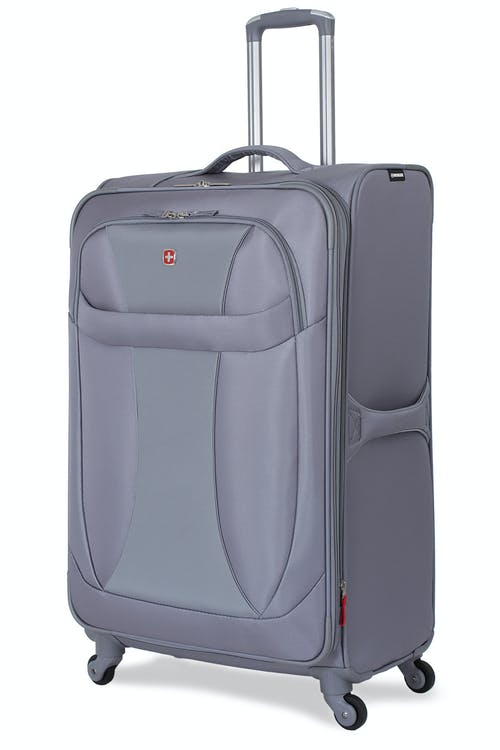 """SWISSGEAR 7208 29"""" EXPANDABLE LITEWEIGHT SPINNER LUGGAGE - GREY"""