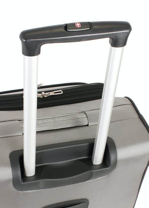 """Swissgear 7211 20"""" Expandable Spinner Luggage push-button locking telescopic handle"""