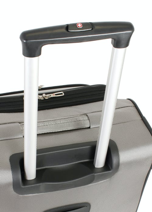 """Swissgear 7211 28"""" Expandable Spinner Luggage Push-button locking telescopic handle"""