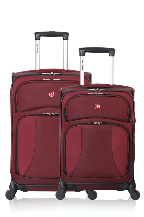 SWISSGEAR 7211 EXPANDABLE SPINNER LUGGAGE 2pc Set