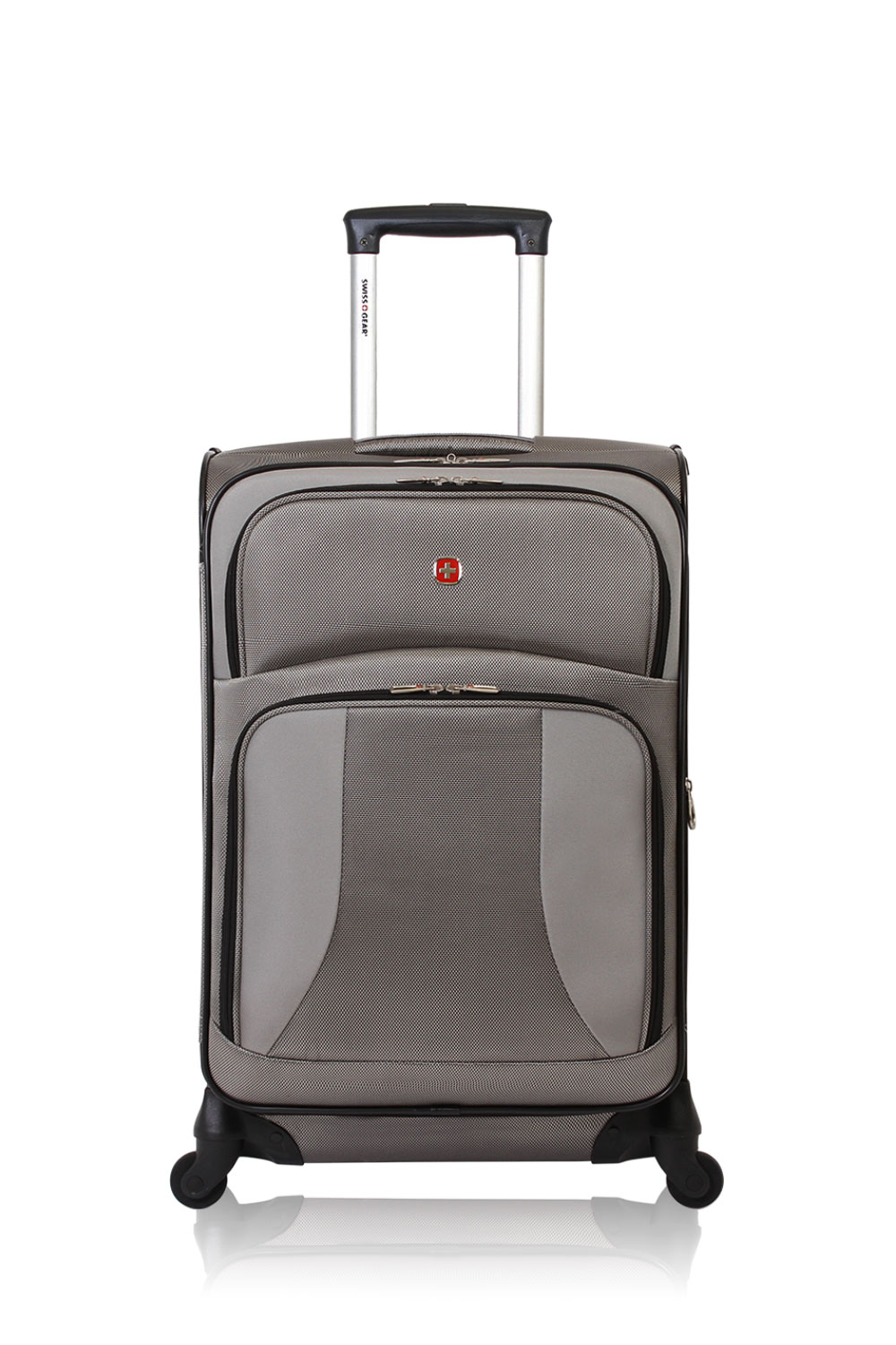 "SWISSGEAR 7211 24"" Expandable Spinner - Pewter Luggage"