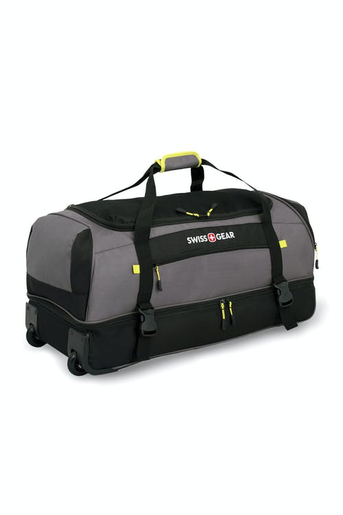 "SWISSGEAR 29"" ROLLING DROP BOTTOM DUFFLE - PADDED TOP HANDLE AND WEBBING SHOULDER STRAPS"