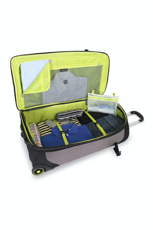 """SWISSGEAR 30"""" WHEELED UPRIGHT - LARGE INTERIOR COMPARTMENT"""