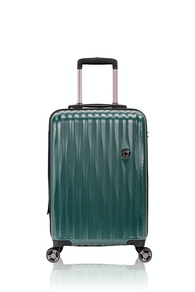 "Swissgear 7272 19"" Energie Hardside Luggage w/USB- June Bug Green"