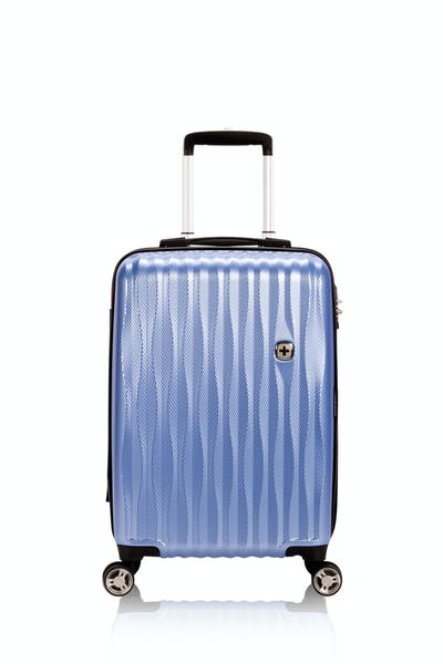 """Swissgear 7272 19"""" Energie Hardside Luggage w/USB - Periwinkle"""