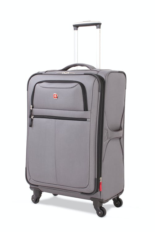 "Swissgear 7281 24"" Expandable Liteweight Spinner Luggage - Charcoal"
