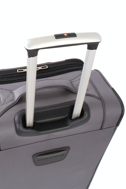 "Swissgear 7281 24"" Expandable Liteweight Spinner Luggage Push-button locking telescopic handle"