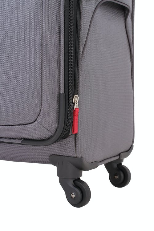 "Swissgear 7281 24"" Expandable Liteweight Spinner Luggage 360-degree, multi-directional spinner wheels"