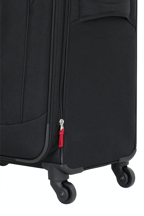 "Swissgear 7291 20"" Expandable Liteweight Carry-On Spinner Luggage 360-degree, multi-directional liteweight spinner wheels"