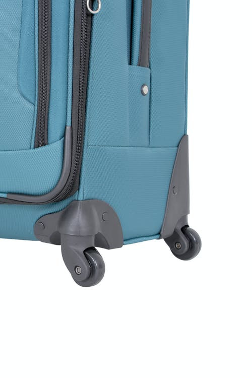 "SWISSGEAR 7297 20"" EXPANDABLE CARRY-ON SPINNER LUGGAGE 360 DEGREE MULTI-DIRECTIONAL SPINNER WHEELS"