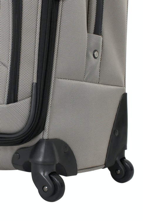 "SWISSGEAR 7297 24"" EXPANDABLE SPINNER LUGGAGE 360 DEGREE SPINNER WHEELS"