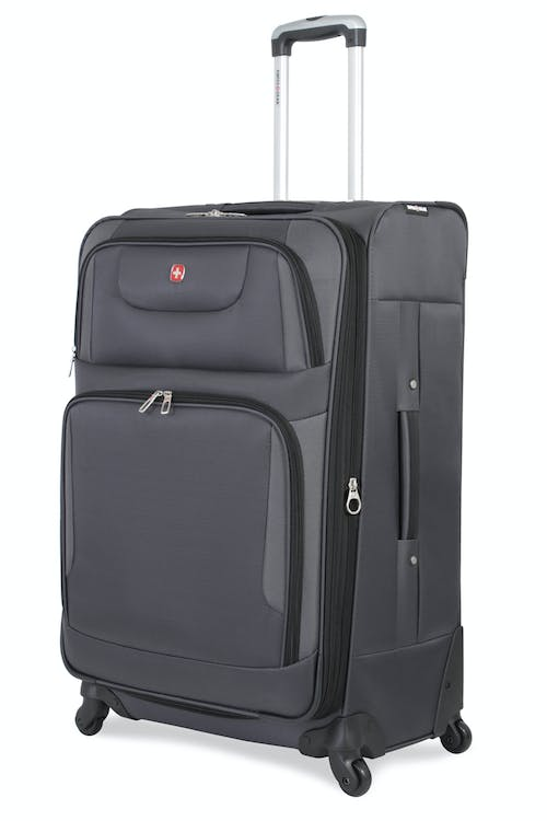 "SWISSGEAR 7297 28"" EXPANDABLE SPINNER LUGGAGE - GREY"