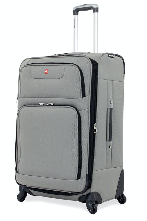 "SWISSGEAR 7297 28"" EXPANDABLE SPINNER LUGGAGE - PEWTER"