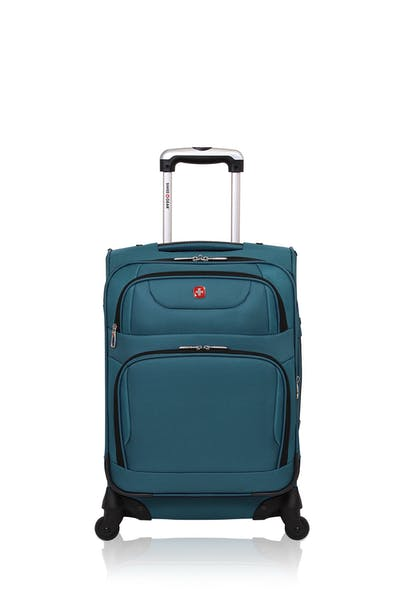 "Swissgear 7297 20"" Expandable Carry-On Spinner Luggage"
