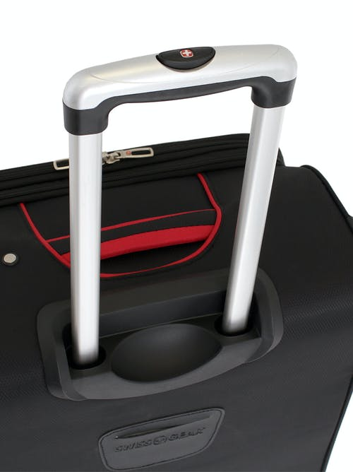 "SWISSGEAR 7317 24"" EXPANDABLE CARRY-ON SPINNER LUGGAGE TELESCOPING LOCKING HANDLE SYSTEM"