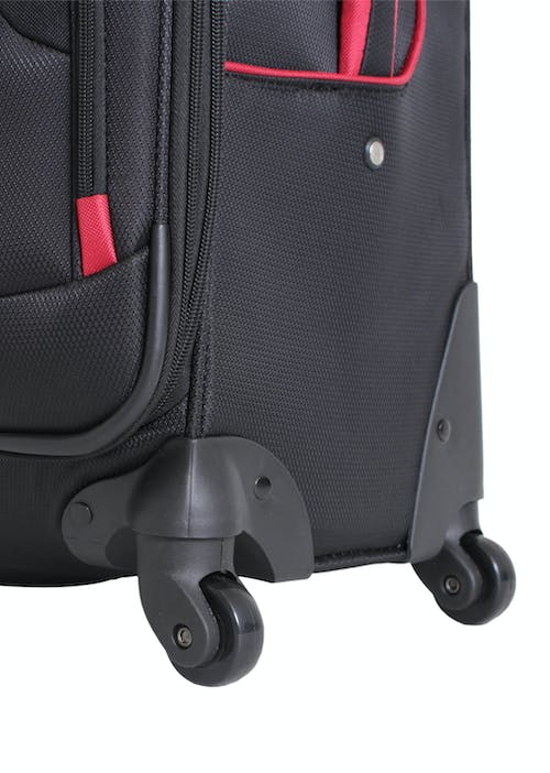 "SWISSGEAR 7317 24"" EXPANDABLE CARRY-ON SPINNER LUGGAGE 360 DEGREE MULTI-DIRECTIONAL SPINNER WHEELS"
