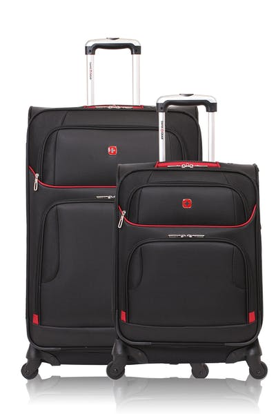SWISSGEAR 7317 EXPANDABLE CARRY-ON SPINNER LUGGAGE