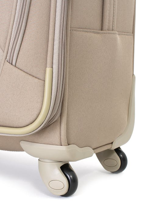 SWISSGEAR 7353 EXPANDABLE DELUXE SPINNER KHAKI LUGGAGE - HANDLE