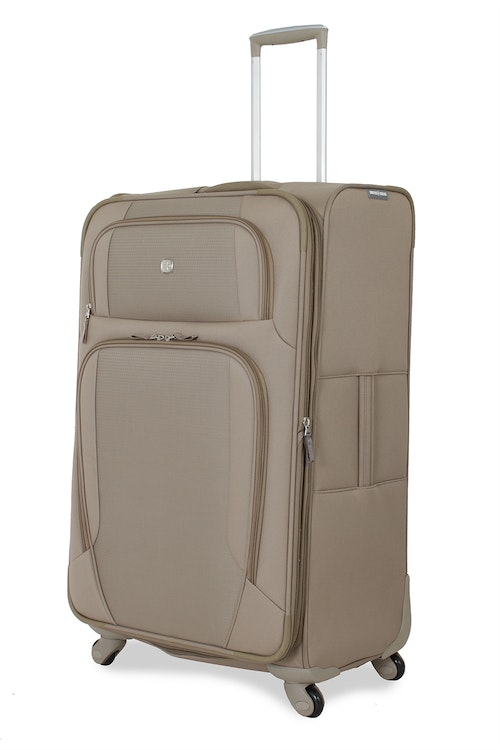 """SWISSGEAR 7353 28"""" EXPANDABLE DELUXE SPINNER KHAKI LUGGAGE"""