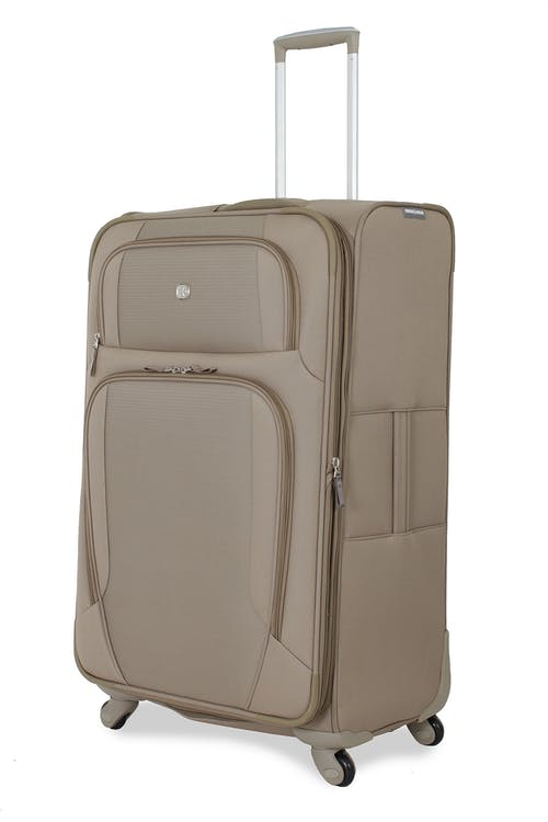 """Swissgear 7353 29"""" Expandable Deluxe Spinner Luggage - Khaki"""