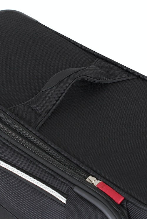 """SWISSGEAR 7362 20"""" EXPANDABLE LITEWEIGHT CARRY-ON SPINNER LUGGAGE REINFORCED PADDED ERGONOMIC HANDLES"""