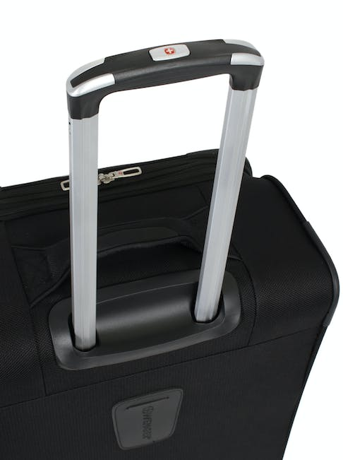 "SWISSGEAR 7362 20"" EXPANDABLE LITEWEIGHT CARRY-ON SPINNER LUGGAGE ALUMINUM TELESCOPING LOCKING HANDLE"