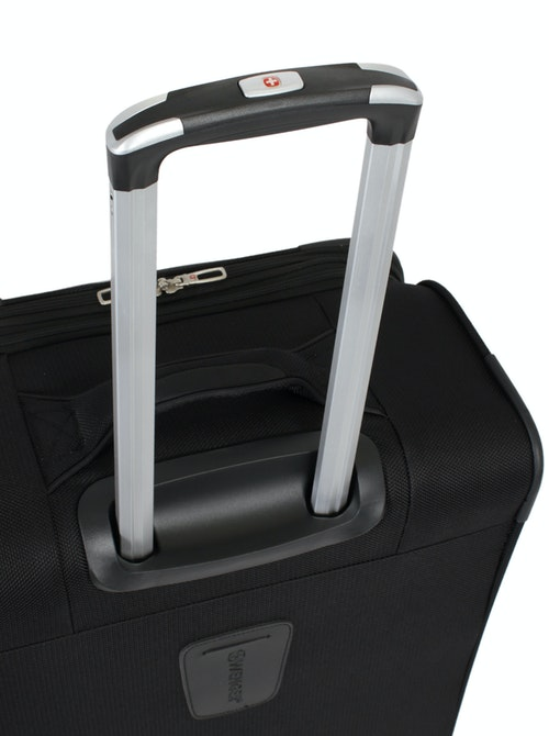 """SWISSGEAR 7362 20"""" EXPANDABLE LITEWEIGHT CARRY-ON SPINNER LUGGAGE ALUMINUM TELESCOPING LOCKING HANDLE"""