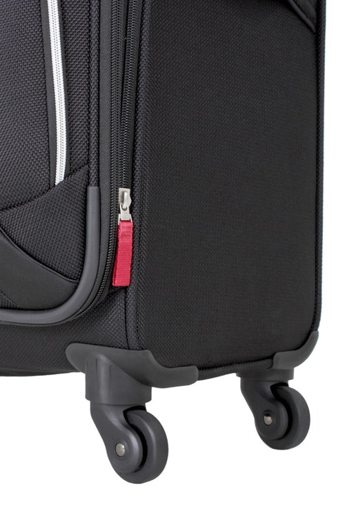 """SWISSGEAR 7362 20"""" EXPANDABLE LITEWEIGHT CARRY-ON SPINNER LUGGAGE 360 DEGREE SPINNER WHEELS"""
